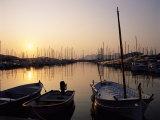 The Harbour at Sunrise  Puerto Pollensa  Mallorca (Majorca)  Balearic Islands  Spain  Mediterranean