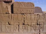 Heiroglyphic Carvings  Bajrawiya  the Pyramids of Meroe  Sudan  Africa