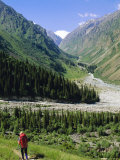Tien Shan Mountains  Ala Archa Canyon  Kyrgyzstan  Central Asia