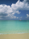 Still Turquoise Sea off Seven Mile Beach  Grand Cayman  Cayman Islands  West Indies