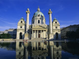 Karlskirche  Vienna  Austria  Europe