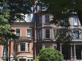 Townhouses in Commonwealth Avenue  Boston  Massachusetts  USA