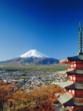 Fuji with Mt Fuji in the Background  Japan