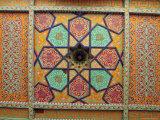 Painted Ceiling  Tash Khauli Palace  Khiva  Uzbekistan  Central Asia