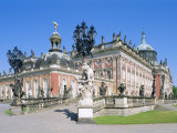 The New Palace in the Park Sanssouci  Potsdam  Brandenburg  Germany  Europe