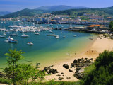 The Harbour at Bayona  Galicia  Spain  Europe