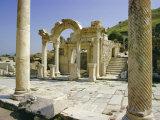 Hadrian's Temple  Ephesus  Turkey  Eurasia