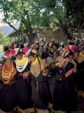 Kalash Women  Rites of Spring  Joshi  Bumburet Valley  Pakistan  Asia