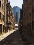 Alleyway  North End  Boston  Massachusetts  USA