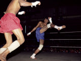 Burmese Boxing  No Kicks or Punches Barred  Mandalay  Myanmar (Burma)  Asia