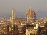 Florence Skyline  Tuscany  Italy