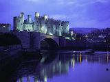 Conwy (Conway) Castle  Unesco World Heritage Site  Gwynedd  North Wales  UK  Europe