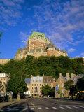 Chateau Frontenac  Quebec City  Quebec  Canada