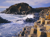 The Giant's Causeway  Co Antrim  Northern Ireland