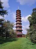 The Pagoda  Kew Gardens  Kew  London  England  UK