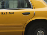 Taxi Cab  Manhattan  New York City  New York  United States of America  North America