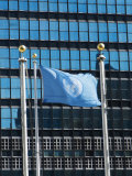 The United Nations Building  Manhattan  New York City  New York  USA