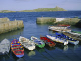 Dalkey Island and Coliemore Harbour  Dublin  Ireland  Europe