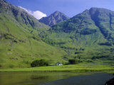 Glencoe (Glen Coe)  Highlands Region  Scotland  UK  Europe