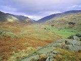 Hardknott Pass  Lake District National Park  Cumbria  England  UK