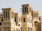 Wind Towers  Madinat Jumeirah Hotel  Dubai  United Arab Emirates  Middle East