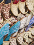 Curly Toed Slippers for Sale in Bur Dubai Souk  Dubai  United Arab Emirates  Middle East