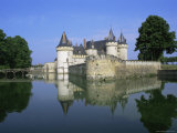 Sully-Sur-Loire Chateau  Loire Valley  Unesco World Heritage Site  France  Europe