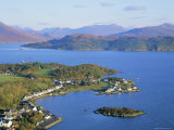 Plockton and Loch Carron  Highlands Region  Scotland  UK  Europe