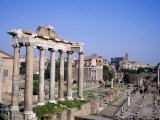 The Roman Forum in Rome  Lazio  Italy