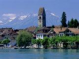 Interlaken  Jungfrau Region  Bernese Oberland  Swiss Alps  Switzerland  Europe