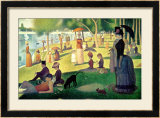 Sunday Afternoon on the Island of La Grande Jatte  c1886
