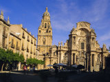 The Cathedral in Murcia  Murcia  Spain  Europe