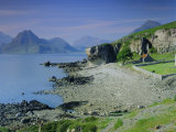 Elgol and the Cuillin Hills  Isle of Skye  Highlands Region  Scotland  UK  Europe