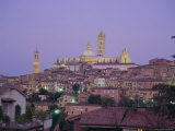 City Skyline  Siena  Tuscany  Italy  Europe