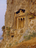 Lycian Rock Tombs (Circa 400 BC)  Near Fethiye  Turkey  Eurasia