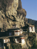 Taktsang Monastery  Known as the Tiger's Lair  Paro  Bhutan