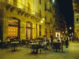 Cafes at Night  Place d'Etoile  Beirut  Lebanon