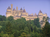 Pierrefonds Castle  Picardie (Picardy)  France  Europe