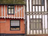 Timbered Buildings  Lavenham  Suffolk  England