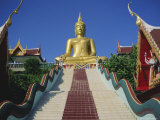 Golden Buddha Temple  Koh Samui  Thailand  Asia