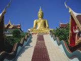 Golden Buddha Temple  Koh Samui  Thailand  Asia