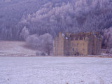 Castle Menzies in Winter  Weem  Perthshire  Scotland  UK  Europe