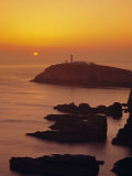 South Stack at Sunset  Anglesey  Gwynedd  North Wales  UK  Europe