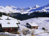 Ski Resort  Arosa  Graubunden Region  Swiss Alps  Switzerland  Europe