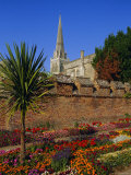 Chichester Cathedral and Gardens  Chichester  West Sussex  England  UK  Europe