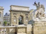 Ard De Triomphe  Montpellier  Languedoc  France  Europe