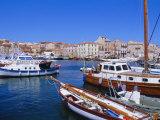 La Maddalena Harbour  Sardinia  Italy  Europe