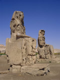 The Colossi of Memnon  Luxor  Egypt  North Africa