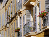 Shutters and Balconies  Aix En Provence  Provence  France  Europe