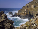 Botallack Tin Mines  Cornwall  England
